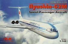 Iljuschin IL-62M Aeroflot, 1/144, ICM, Plastikmodellbausatz,*NEU*