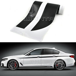 4 Color M Performance Side Skirt Stripe Sticker Body Decal