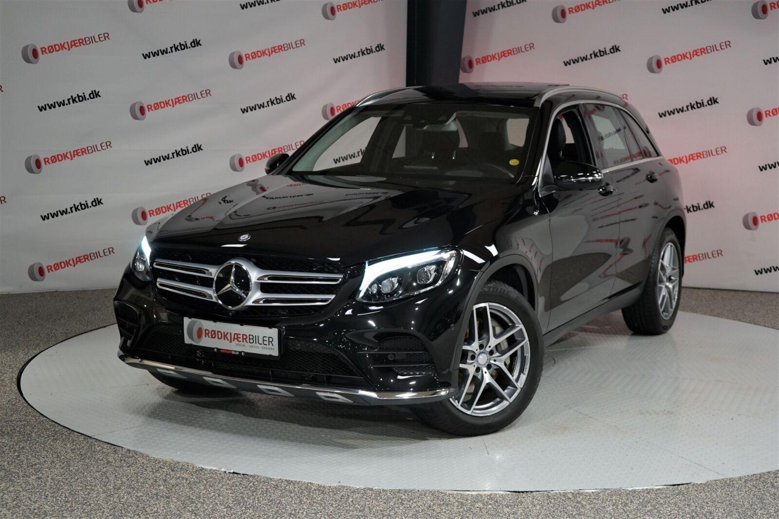 Mercedes GLC250 d 2,2 AMG Line aut. 4-M 5d - 260.000 kr.