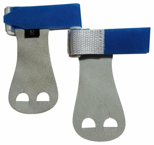 PUSH Athletic Gymnastics Youth Hand Grips Blue, Small