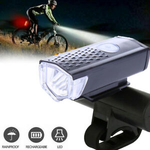 Rechargeable-Bike-Front-Headlight-Light-Bicycle-Cycling-CREE-LED-Lamp-Waterproof
