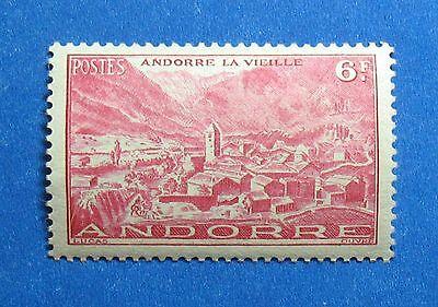 Stamps Dashing 1944 Andorra French 6 Fr Scott# 97 Michel # 120 Unused Nh Cs27910 Andorra