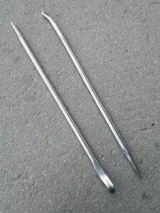 TITANIUM 100/% Crowbar  Pry Bar Nail Puller Very Light