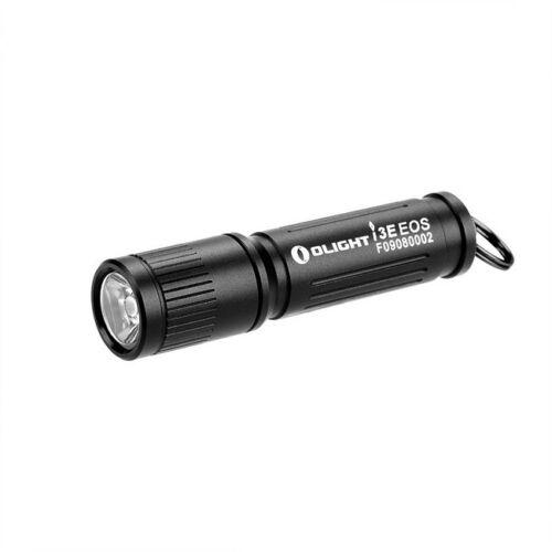90 Lumens noir Olight I3E EOS Mono-Sortie Keychain DEL Lampe de poche 1 AAA NEUF