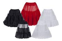 Petticoat Underskirt Half Slip 25 For 50's Vintage And Prom Dresses 8 - 20+