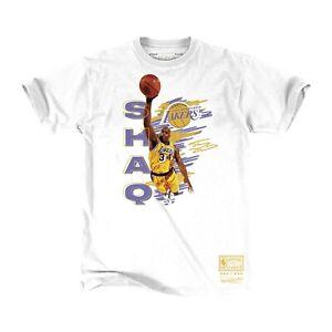Mitchell-amp-Ness-White-NBA-Los-Angeles-Lakers-Shaq-T-Shirt