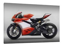 Ducati 1299 Superleggera - 30x20 Inch Canvas Framed Picture Print Wall Art