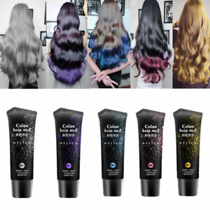 US-DIY-Hair-Color-Cream-Dye-Wax-Stylish-Temporary-Hair-Mud-Modeling-Long-Lasting