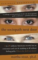 The Sociopath Next Door By Martha Stout, (paperback), Harmony , New, Free Shippi on sale