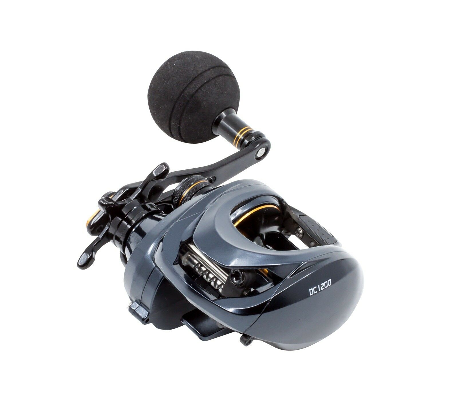 Loki DC12000 Large Bait Caster 6 3.1 baitcasting fishing reel Big Game Inshore