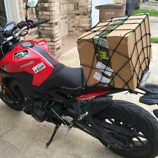 Mantain 15x15 Reflective Rack Bungee Net Cargo Net 6 Adjustable Hooks for Bike Bicycle Motorcycle