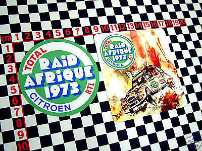 Citroen 2cv raid afrique rally stickers 2cv6 dolly 2 cv ebay