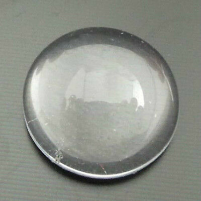 50Pcs Glass Clear Round Dome Cameo Cabochons 12*12mm Finding Decor 06931
