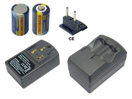 Cargadores para Contax aria g1 g2 t3 NX tix incl. baterías 2x