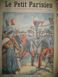 ALGERIE-ORAN-Gal-D-039-AMADE-RAT-DEVOREUR-DE-FORTUNE-JOURNAL-LE-PETIT-PARISIEN-1909