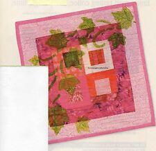 Lavish Leaf Quilt Pattern Pieced/Fabric Stamping MC