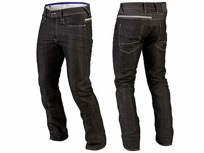 Vintage Mens Motorcycle Motorbike Denim Trousers Pants Protection Lined Jeans