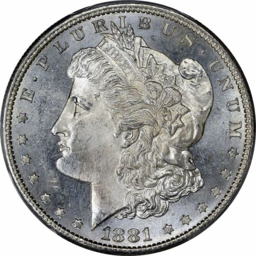 1881-S Morgan Silver Dollar Brilliant Uncirculated BU