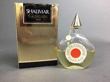 Vintage Guerlain Shalimar Paris Eau De Cologne Perfume 1.7oz Bottle With Rope