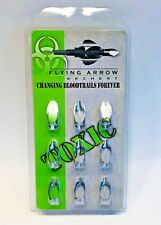 FLYING ARROW ARCHERY TOXIC REPLACEMENT BLADES