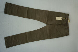 SELECTED-Homme-Kelp-Herren-Jeans-chino-slim-Stretch-Hose-W30-L32-khaki-oliv-AP8