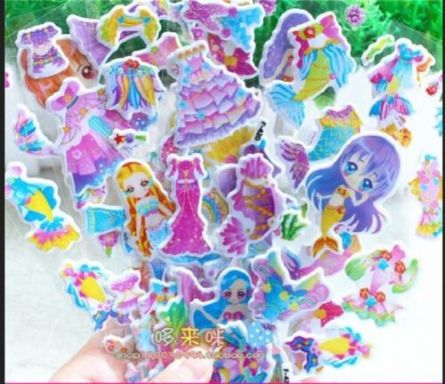 Hot Cute 3d Puffy Scrapbook Stickers Party Favors Crafts Rewardkid Birthday Gift