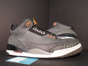 buy popular 3c2c3 0e833 Image is loading Nike-Air-Jordan-III-3-Retro-FEAR-PACK-