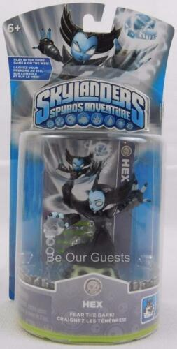 Skylanders Spyro/'s Adventure HEX Figure New endommagé Carte