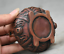 3-8-034-Old-Chinese-Red-Bronze-Dynasty-Beast-Zun-Statue-Incense-Burner-Censer thumbnail 9