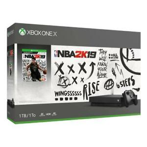 Xbox-One-X-1TB-NBA-2K19-Bundle-Digital-download-of-NBA-2K19-included-Black