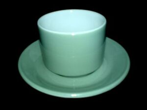 ROYAL-DOULTON-STEELITE-HOTEL-WARE-Sage-Green-Sugar-Bowl-Under-Plate-3-avail