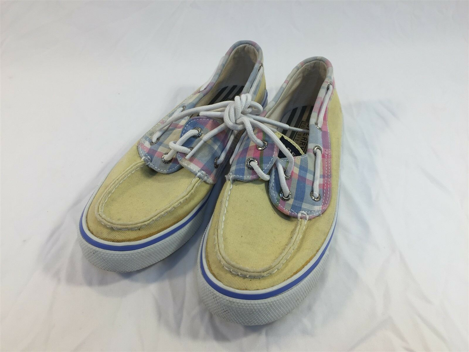 Sperry Top Siders Womens 6M 9777991 Yellow