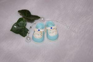 Details Zu Streuartikel Tischdeko Dekoration Schuhe Geburt Taufe Junge Boy Blau