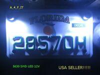 Universal Led Motorcycle Car License Plate Bolt Light Kit