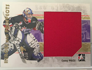 2006-07-ITG-Carey-Price-Heroes-and-Prospects-Game-Used-Jersey-139