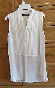Women-039-s-Polo-Ralph-Lauren-100-silk-sleeveless-blouse-size-6-brand-new-NWT-225