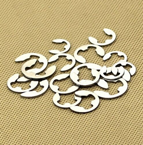DORL/_A new 100Pcs 8mm Stainless Steel E-Clip Snap Ring Circlip