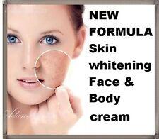 NEW Skin lightening whitening Face cream Anti dark age spots freckle sun damage