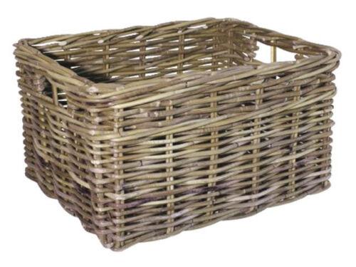 FastRider cesta de bicicleta Calamus cesta de mimbre de ratán cesta de compras cestas portaequipajes cesta