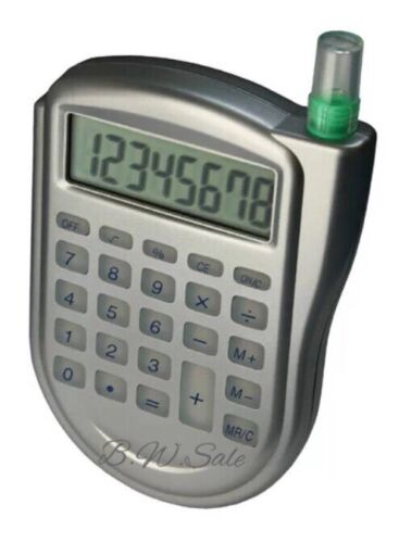 H20 Water Powered Calculator ECO FRIENDLY No Batteries School Office Home Study