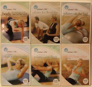 6-Pilates-for-Life-workout-DVD-Set-Amy-Brown-Abs-Waist-butt-hips-ball-20-minute