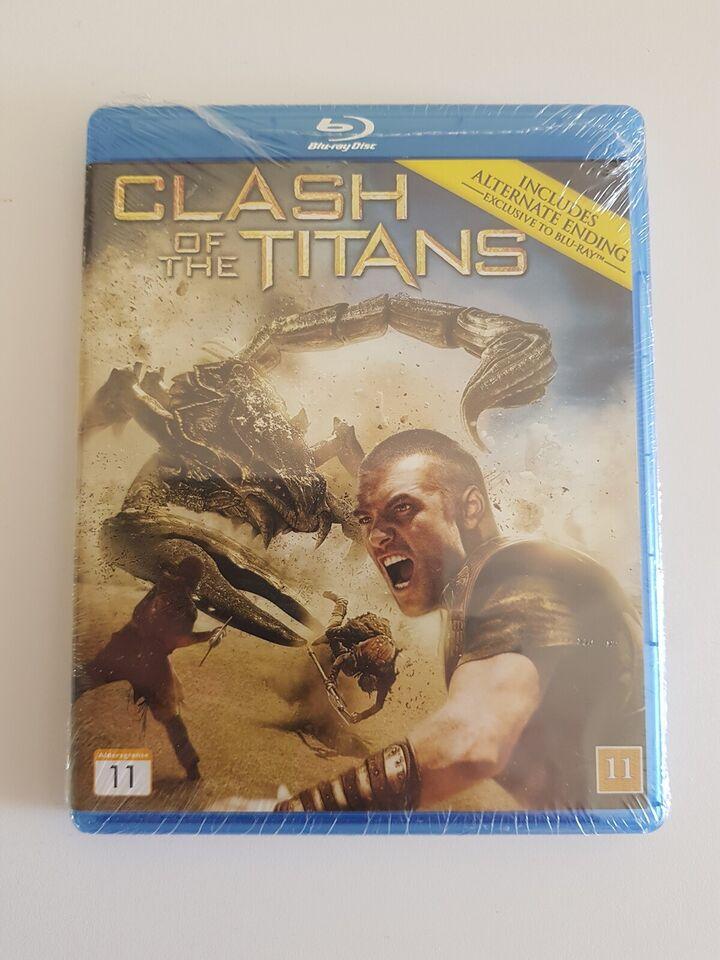 Clash of the Titans, instruktør Louis Leterrier, Blu-ray