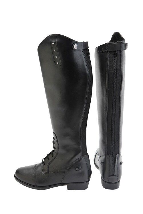 Horka Riding Boot Emy Junior KIDS RUBBER HORSE RIDING BOOTS WITH DIAMONDS