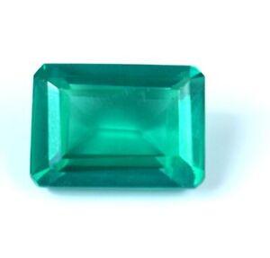 AAA Grade Colombian Emerald Gems 12.90 Ct emerald Cut Natural Certified A21614