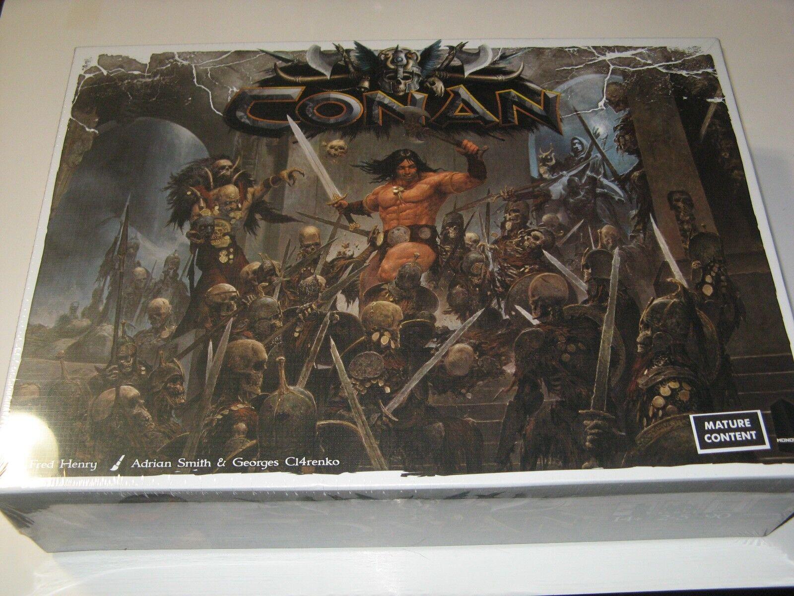 Conan fantasy boardgame NEW SW Monolith Games core base set 74 miniatures