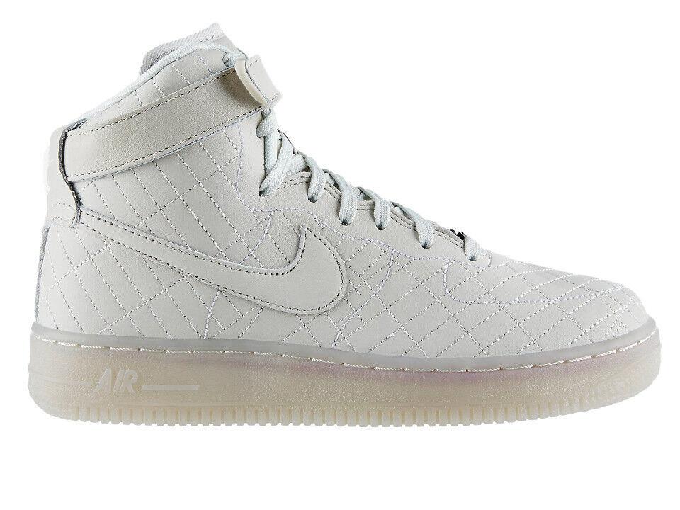 Nueva Nike Wmns Air Force 1 1 Force Hi FW QS NYC luz hueso 704010-001 nuevo tamaño 7,5 marca de descuento 878a0c