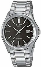 Casio MTP1183A-1A Men's Standard Stainless Steel Silver Dial Analog Date Watch