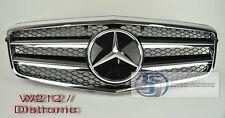 2010~2013 W212 Mercedes NEW E Class E350 E550 Grill grille Black DISTRONIC