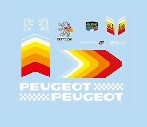 PEUGEOT-bicyclette-decals-transfers-stickers-9