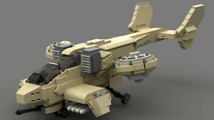 GDI-Orca-Fighter-Custom-Lego-instructions-Command-amp-Conquer-NO-PARTS